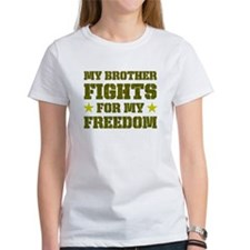 My Brother Fights For Freedom Tee