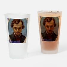 Portrait of Dante Gabriel Rossetti  Drinking Glass