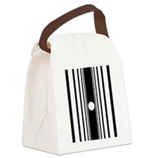 doppler_ipad1_inverse Canvas Lunch Bag