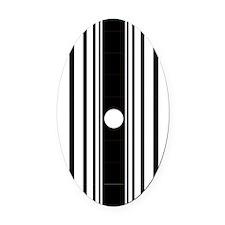 doppler_ipad1_inverse Oval Car Magnet