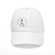 mug_slow_going_wheelchair1 Baseball Cap