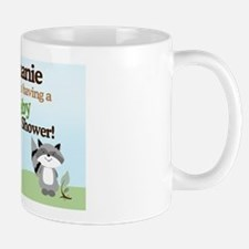 Enchanted Forest Woodland Baby Shower Y Small Small Mug