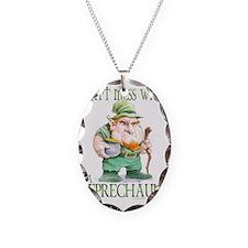 Grumpy Leprechaun T-shirt Necklace