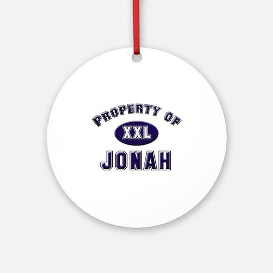 Property of jonah Ornament (Round)