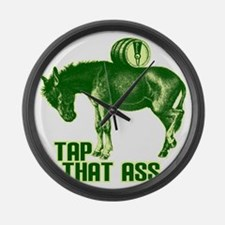 tapthatass2011 Large Wall Clock