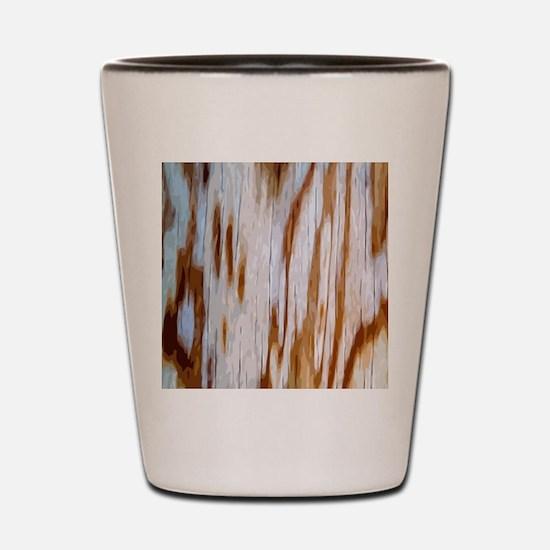 WoodGrBpatMP Shot Glass