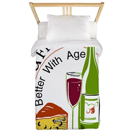 Wine and Friends Better Twin Duvet