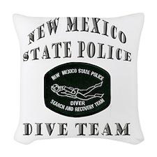 nmspdive Woven Throw Pillow