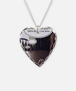 PizzaCairn Necklace Heart Charm