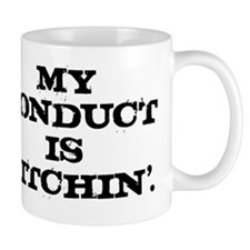 conduct_black Mug