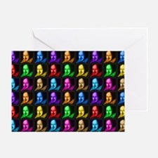 shakespeare-popart-2010-bag Greeting Card