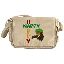 nappy and happy Messenger Bag