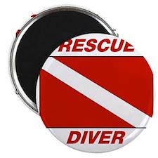 Rescue Diver Magnet