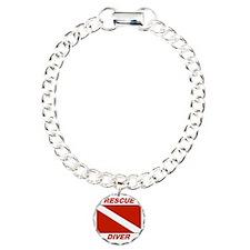Rescue Diver Charm Bracelet, One Charm