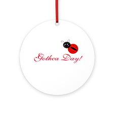 Cute Gotcha day Ornament (Round)