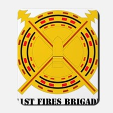 DUI-41 FIRES BDE WITH TEXT Mousepad