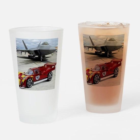 Hot Wheels_Ferrari 512M_Red_F22 Drinking Glass