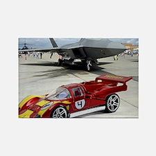Hot Wheels_Ferrari 512M_Red_F22 Rectangle Magnet