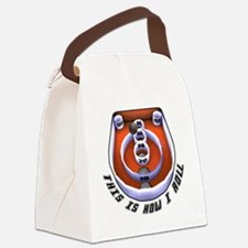 this is how I roll-1 Canvas Lunch Bag