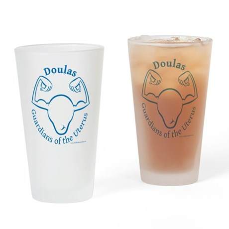 guardians Drinking Glass