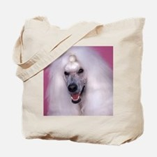 Poodle pillow Tote Bag