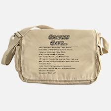 charliesays Messenger Bag