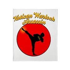 vaticanwarlock2 Throw Blanket