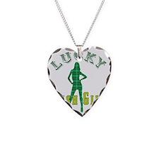 Lucky IrishGirl Necklace