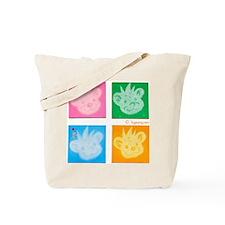 dumo_quad Tote Bag