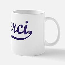 Merci T-shirt Mug