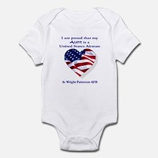 Aunt... Wright Patterson AFB Infant Bodysuit