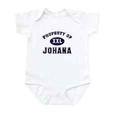 Property of johana Infant Bodysuit