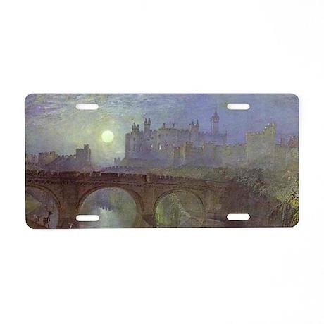 Alnwick Castle Aluminum License Plate