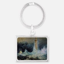 Bell Rock Lighthouse Landscape Keychain