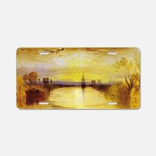 Chichester Canal Aluminum License Plate