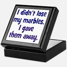 marbles1 Keepsake Box