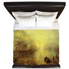 Ovid Banished from Rome King Duvet