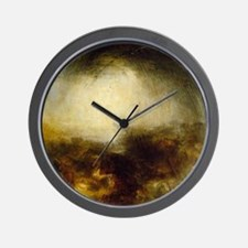 Shade and Darkness Wall Clock