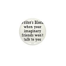 writers-block3 Mini Button