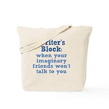 writers-block_rnd1 Tote Bag