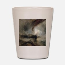 Snow Storm Steam Boat Shot Glass