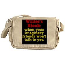 writers-block_rnd2 Messenger Bag