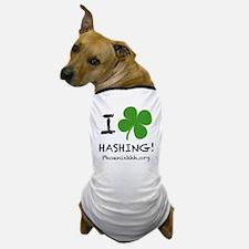I Clover Hashing Dog T-Shirt