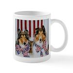Patriotic Collies Mug