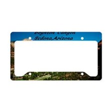 Boynton Canyon8x6 License Plate Holder