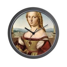 Lady with a Unicorn Wall Clock