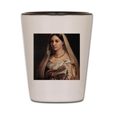 Lady with a Veil Shot Glass