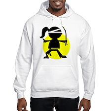 Ninja Girl Karate Hoodie