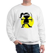 Ninja Girl Karate Sweatshirt