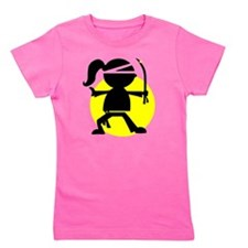 Ninja Girl Karate Girl's Tee
